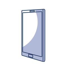 Shadow cellphone cartoon vector