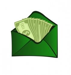 online cash vector image