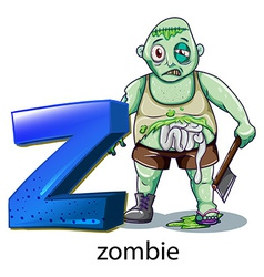 A letter z for zombie vector