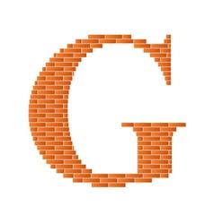 letter g vector image