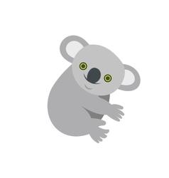 Koala icon flat style vector image