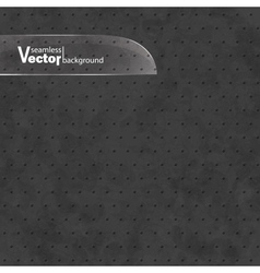 Abstract Black Seamless Texture Background vector image