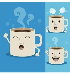 Coffeecupman vector