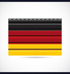 Germany siding produce company icon vector image