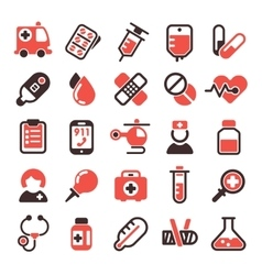 Health medical icons vector