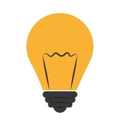 Yellow light bumb graphic vector