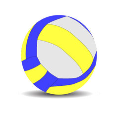 Volleyball sport ball vector