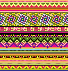 Latin american pattern vector