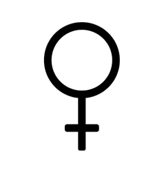 Gender sign mirror of venus 3307 vector