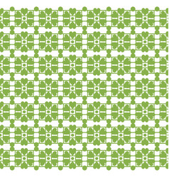 greenery leaf ornament floral seamless pattern vector image vector image