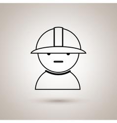Industrial worker design vector