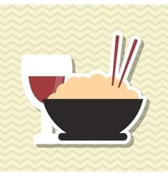 Noodle icon esign vector