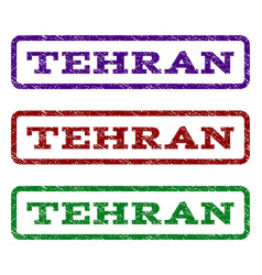 Tehran watermark stamp vector