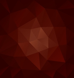 Brown chocolate polygonal triangular pattern vector