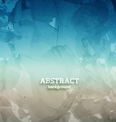 Blue and silver abstract background vector