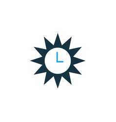 Azan colorful icon symbol premium quality vector