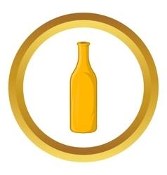 Bottle of beer icon vector