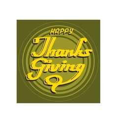 collection thanksgiving card vector image vector image