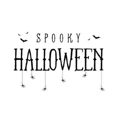 happy halloween template for banner royalty free vector
