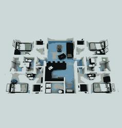 homeplanscii vector image vector image