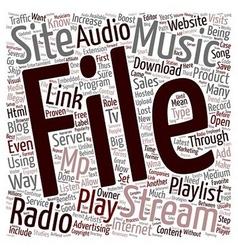 Jp blog radio 1 text background wordcloud concept vector
