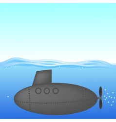 Submarine vector image vector image