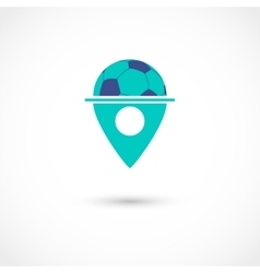 Football club tag vector image