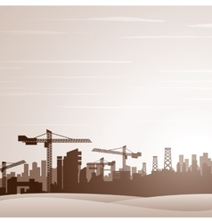 Industrial Theme Background vector image