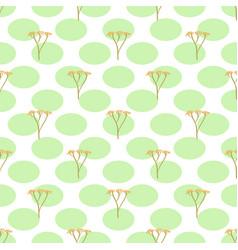 stalks seamless pattern vector image