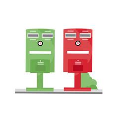 Taiwan post box vector