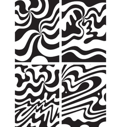 waves abstract backgrounds vector image vector image