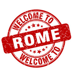 Welcome to rome vector