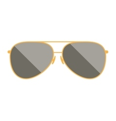 style sunglasses isolated icon vector image