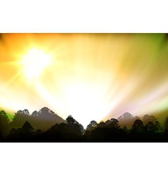 aurora polaris vector image