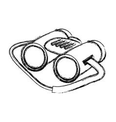 Binoculars icon image vector