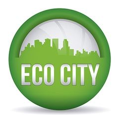 eco city design eps10 graphic vector image vector image