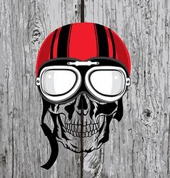 Skull T-shirt design Tattoo art vector image