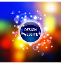 Light template vector image