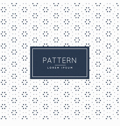 Clean subtle pattern background design vector