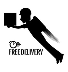Isolated delivery icon vector