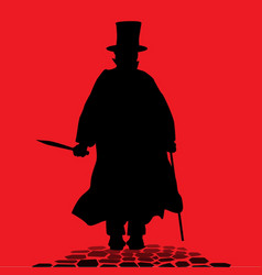 jack the ripper vector image vector image