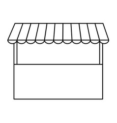 store structure icon vector image