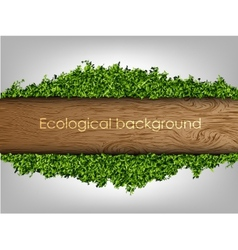 Environmental background of the banner vector