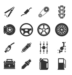 Car icons vector