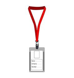 Employee badge vector image