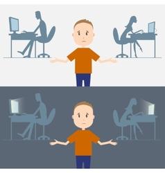 Comp addiction vector image