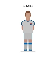 Football kit slovakia vector