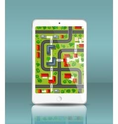 Mobile navigation vector