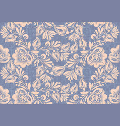traditional russian style seamless pattern vector image
