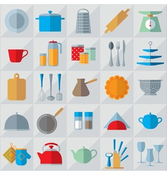 Kitchenware light vector image
